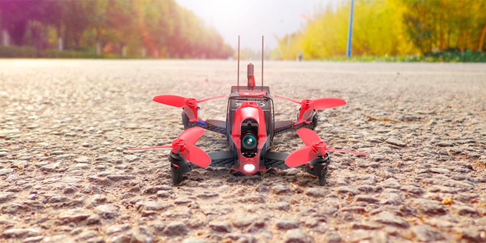 Perfekt til droneræs